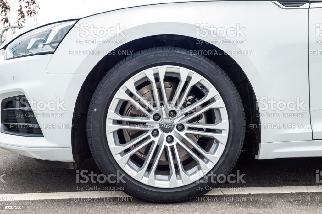 Audi A5 Sportback 2017 Wheel Stock Photo Download Image Now Istock