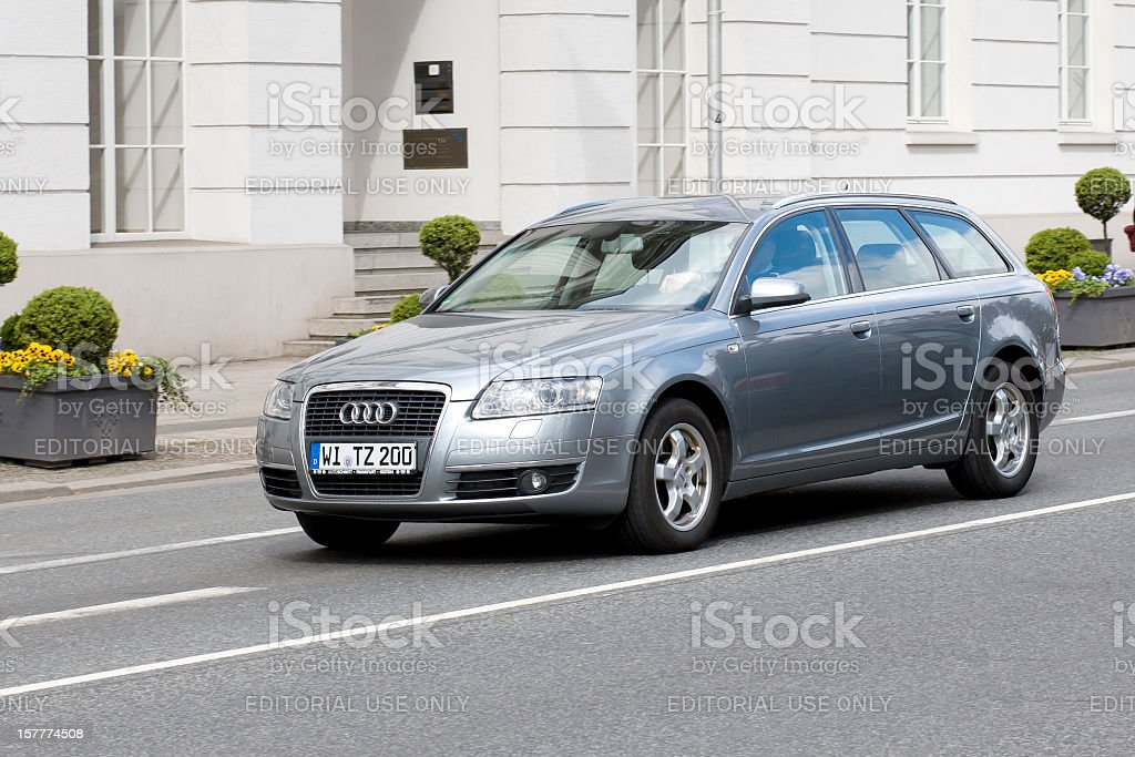 Audi A Station Wagon Stock Photo More Pictures Of Asphalt IStock - Audi a6 wagon