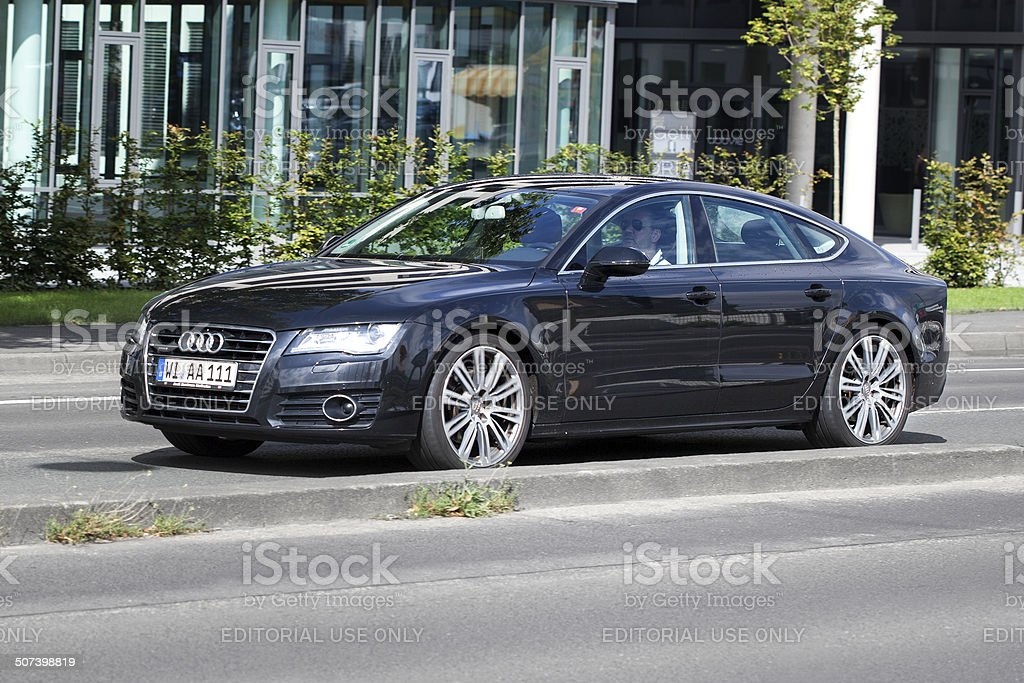 Audi A7 royalty-free stock photo