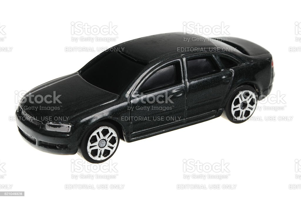 Audi A8 Maisto Diecast Toy Car stock photo