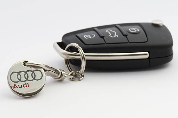Cтоковое фото Автомобиль Audi Ключи