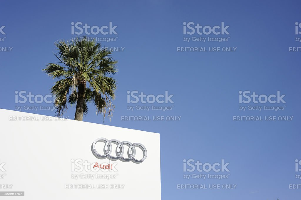 Audi Hospitality at Cannes stock photo