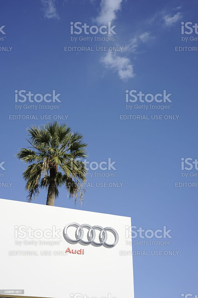 Audi Hospitality at Cannes royalty-free stock photo