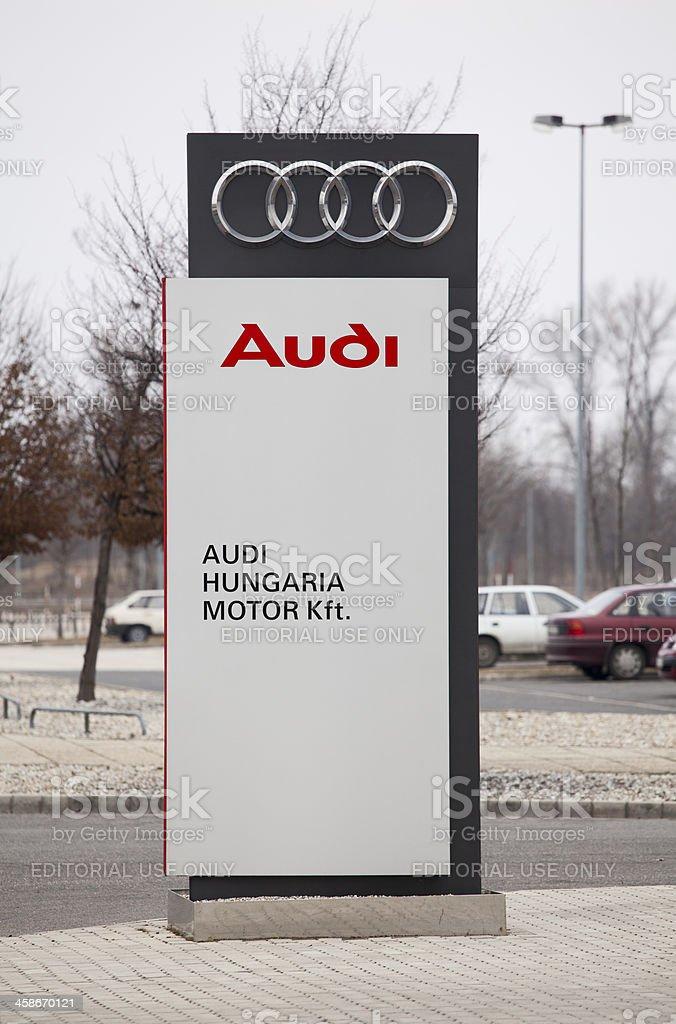 Audi Hungaria Motor stock photo