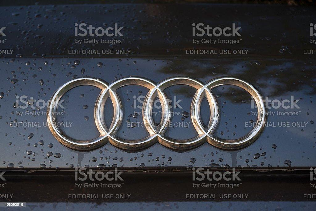 Audi logo foto