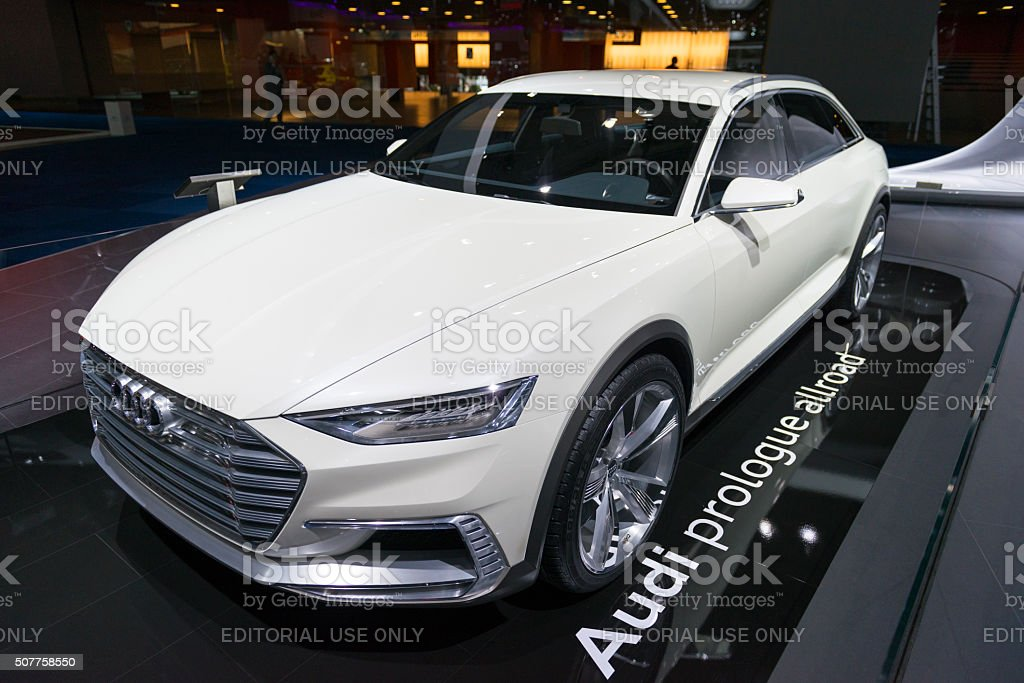 Audi Prologue Allroad Concept Car Stock Photo Download Image Now Istock