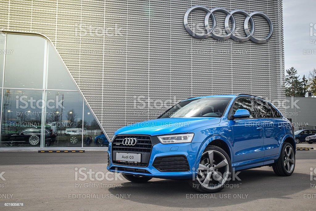 Audi Q3 2.0 TFSI S-line stock photo