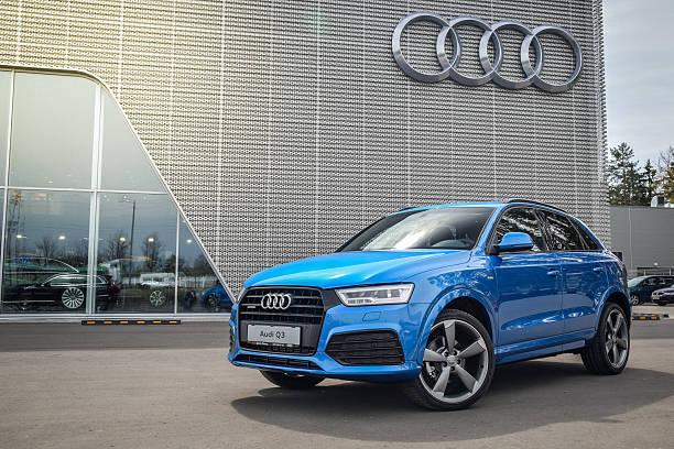 Cтоковое фото Audi Q3 2.0 TFSI S-line