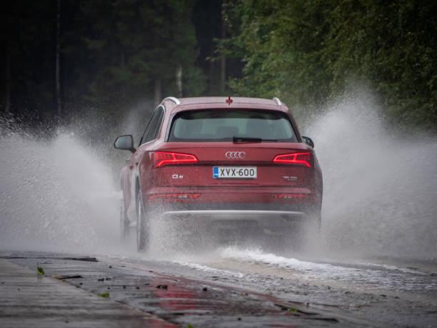 Audi Q5 35 TDI Quattro 2019 model year stock photo