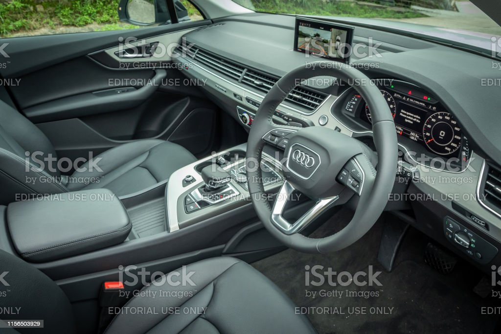 Audi Q7 Interior Stock Photo Download Image Now Istock