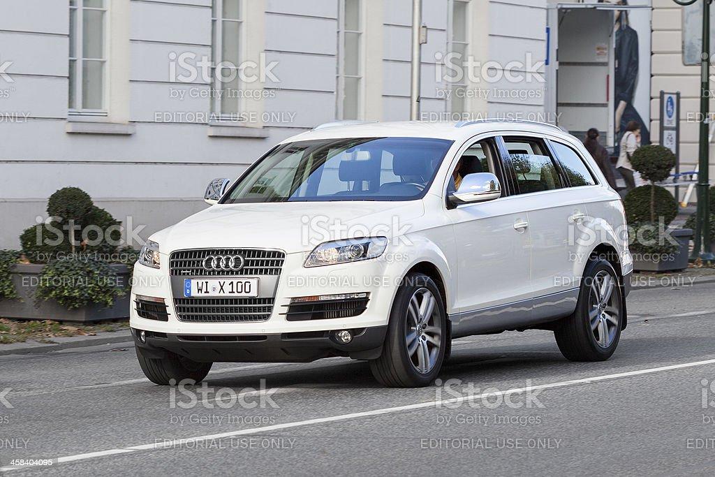 Audi Q7 royalty-free stock photo