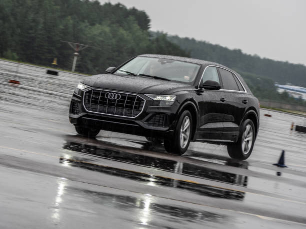 Audi Q8 stock photo