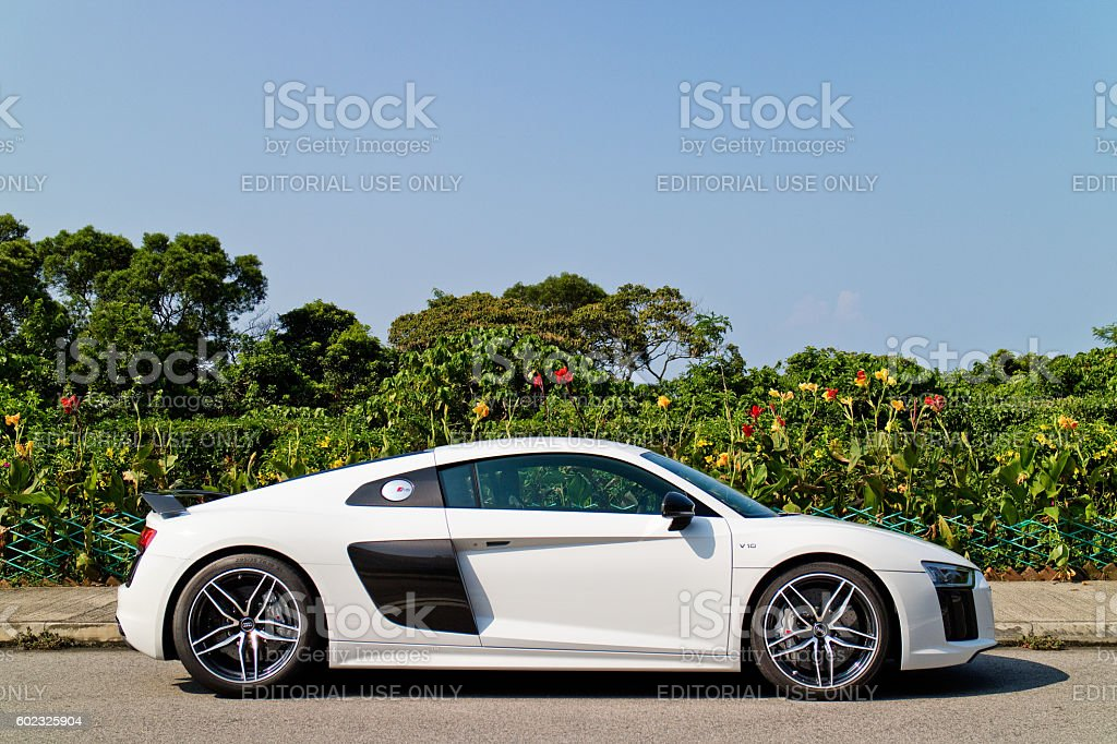 Audi R8 2016 Test Drive Day stock photo