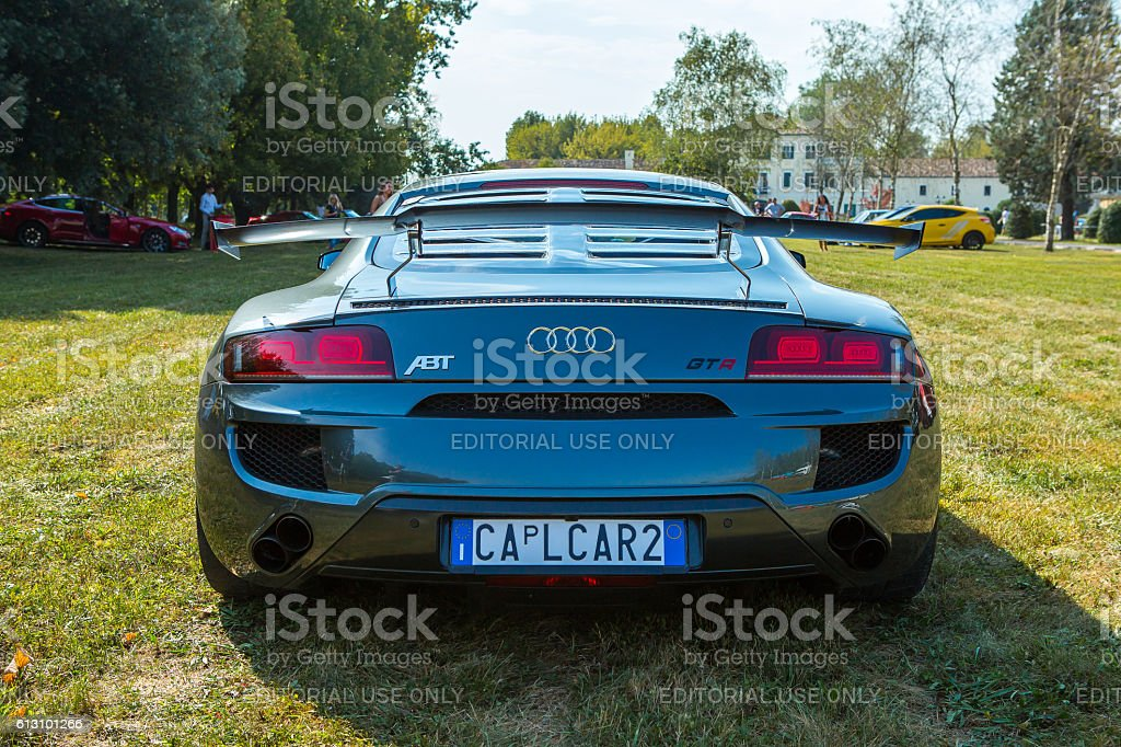Audi R8 GTR ABT at meeting Top Selection 2016 stock photo