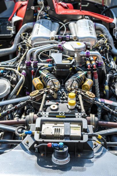 Audi R8 Le Mans Prototype Sport-prototype course voiture engin - Photo