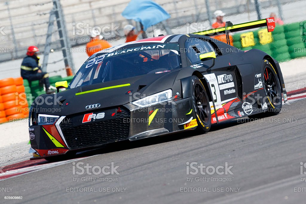 Audi R8 LMS in the Blancpain GT Series Sprint Cup stock photo