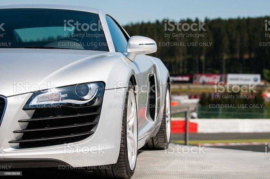 Audi R8 stock photo