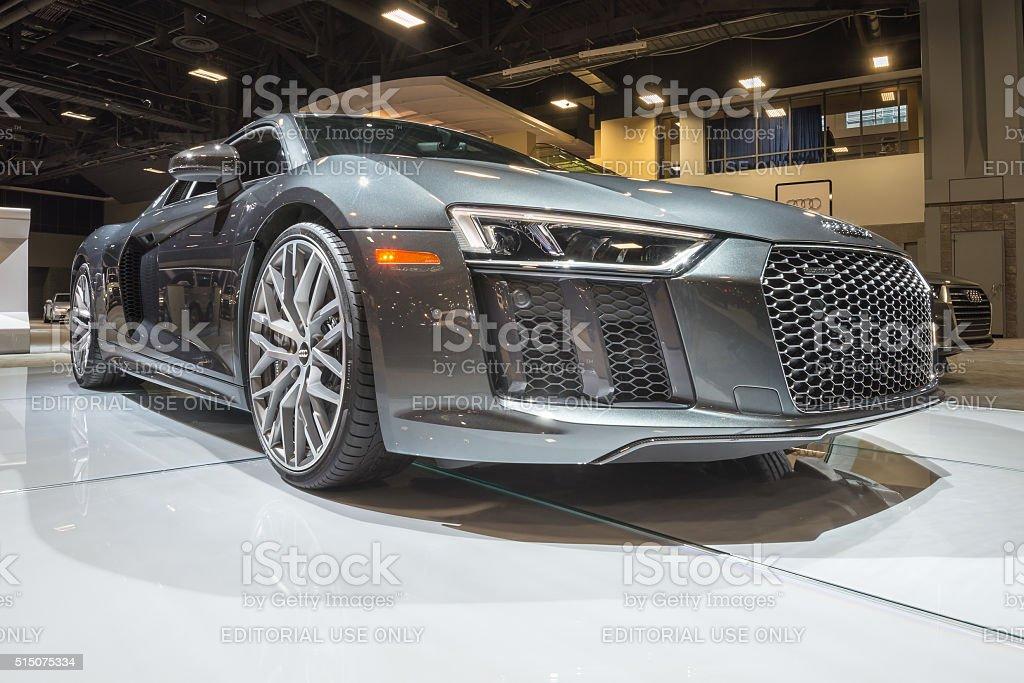 Audi R8 V10 stock photo