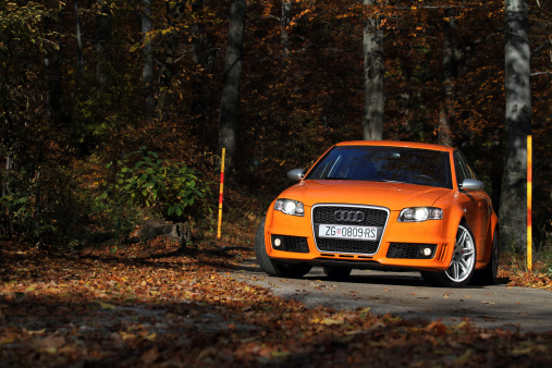 Audi Rs4 Stock Photo - Download Image Now
