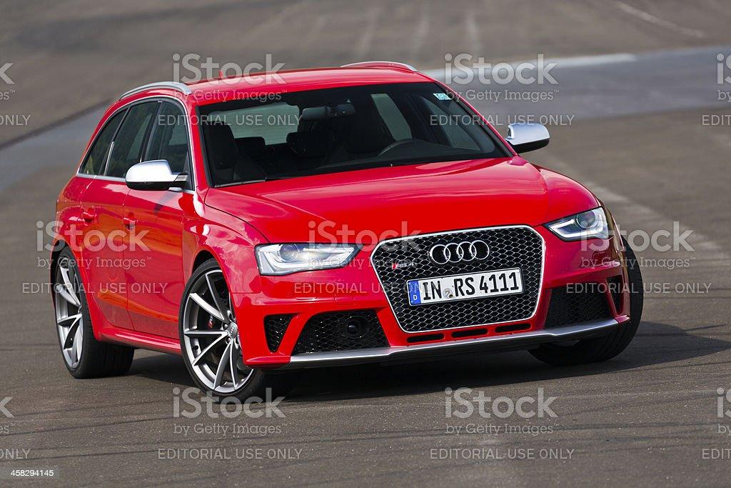 Audi RS4 stock photo