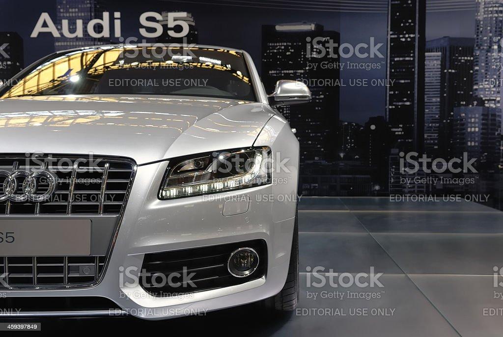 Audi S5 stock photo