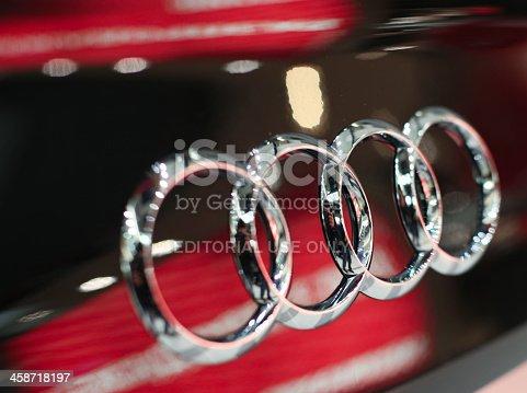 istock Audi sign 458718197