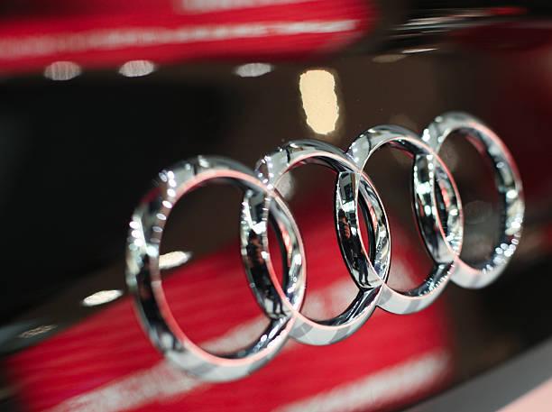 Cтоковое фото Audi знак