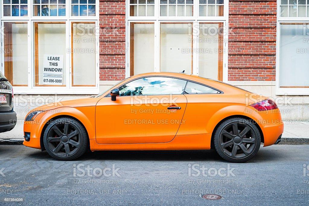 Audi TT Side View foto