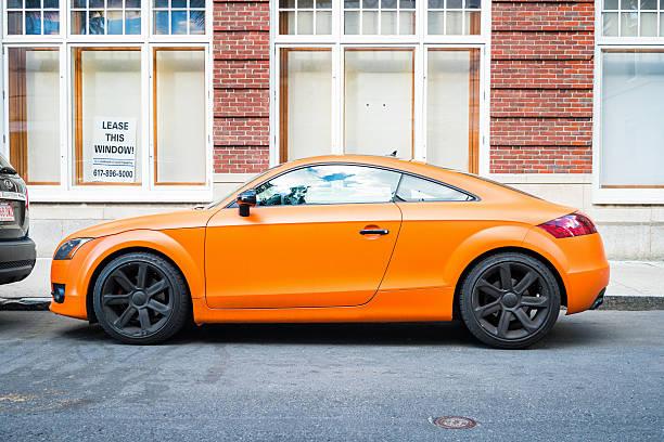 Cтоковое фото Audi TT Side View