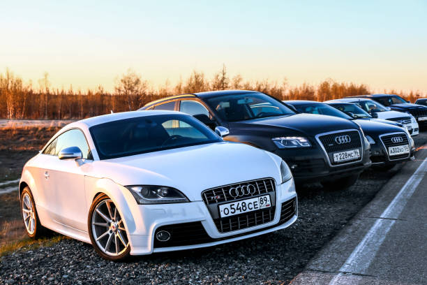 Audi TTS stock photo