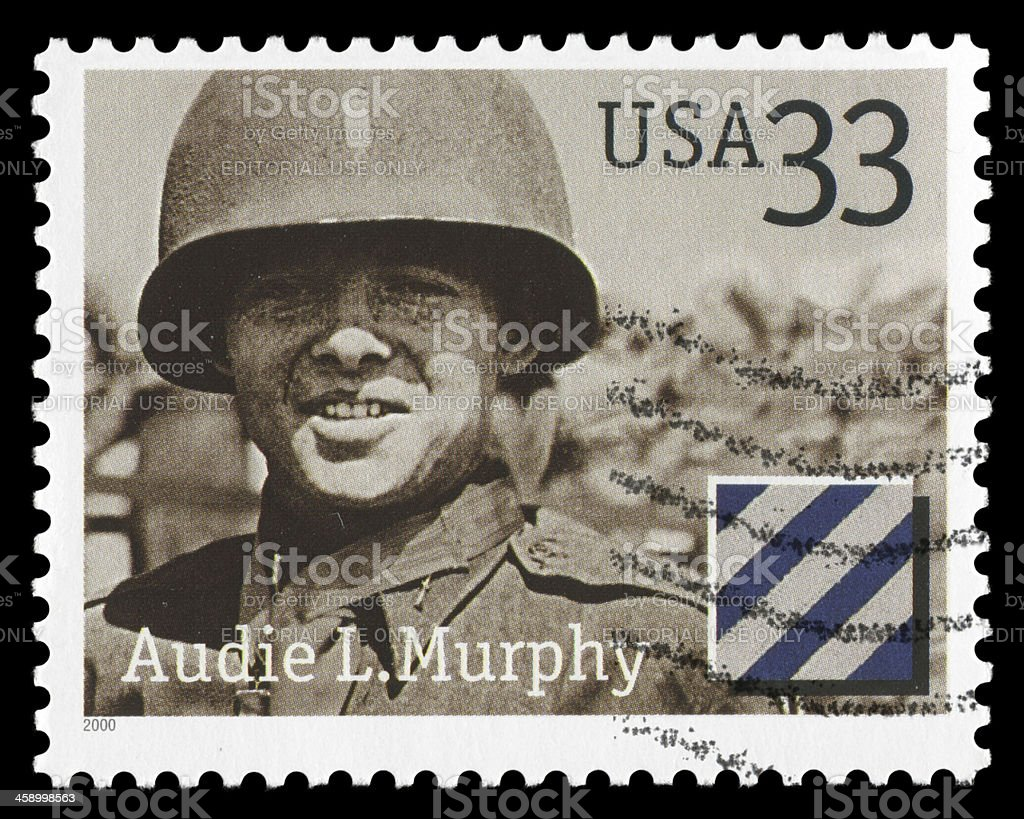 Audie L. Murphy royalty-free stock photo