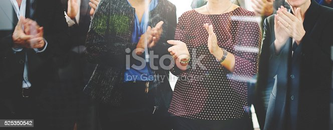 istock Audience Applaud Clapping Happines Appreciation Training Concept 525350542