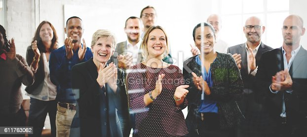 istock Audience Applaud Clapping Happines Appreciation Training Concept 611763062