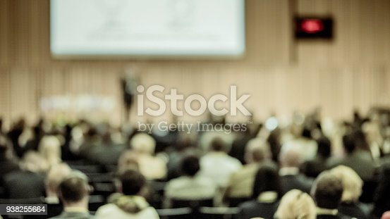 938409136 istock photo Audience at a conference event 938255664