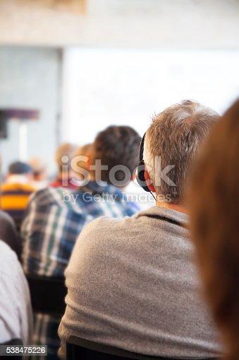 614852062 istock photo Audience  at a seminar 538475226