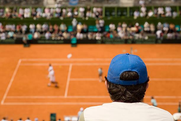 Publikum im tennis – Foto