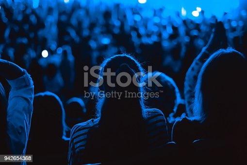istock audience at the concert 942654368