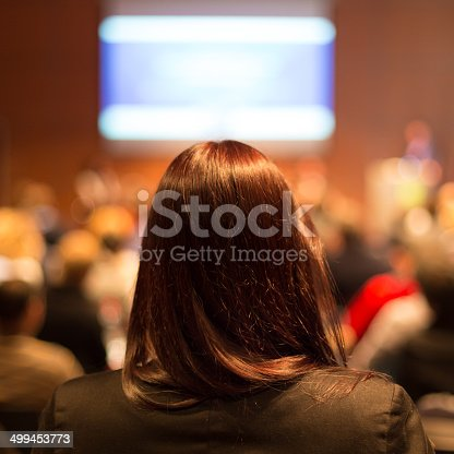 istock Audience at the conference hall. 499453773