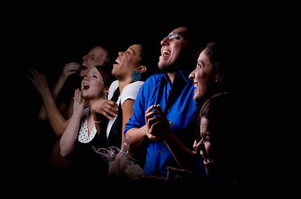 Publikum Lachen – Foto