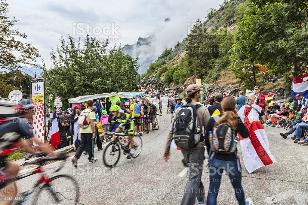 Audience of Le Tour de France foto