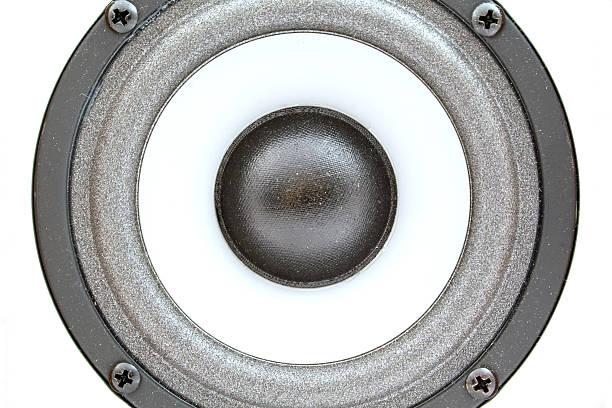 Audio acoustics. A close up. Background 1 stock photo