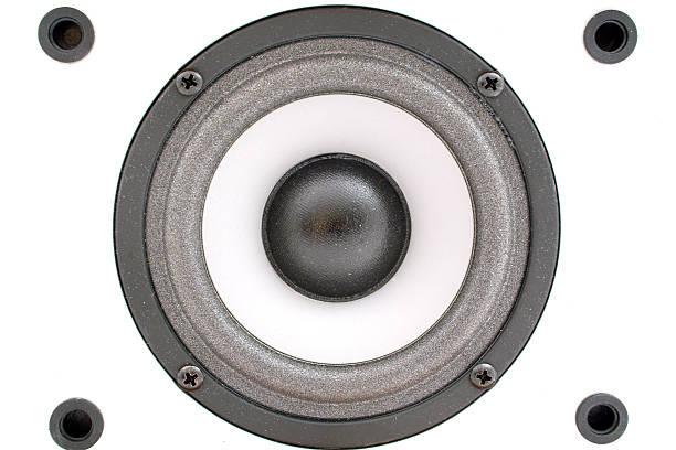 Audio acoustics. A close up. Background 2 stock photo