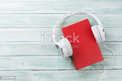 istock Audio book concept 681649664