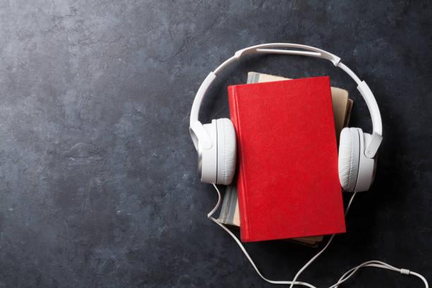 ljud bok koncept - audioutrustning bildbanksfoton och bilder