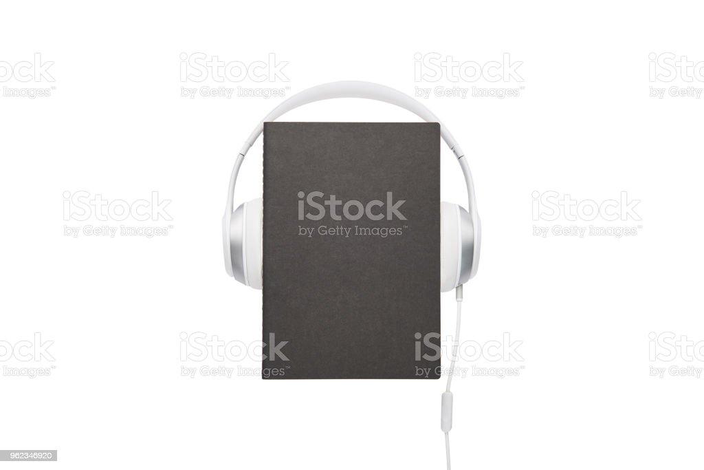 Conceito de áudio livro. - foto de acervo