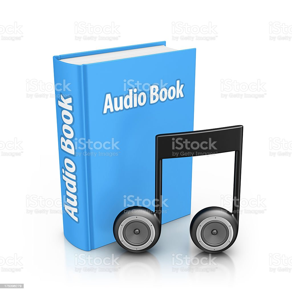 audio book stock photo