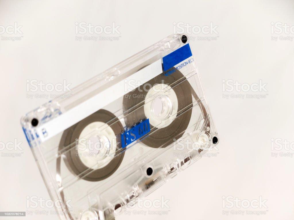 Cassette de audio - foto de stock