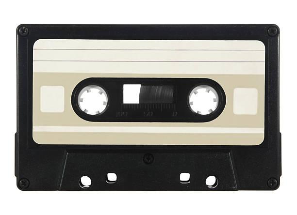 Audio cassette Generic audio cassette - add your own custom design label audio cassette stock pictures, royalty-free photos & images