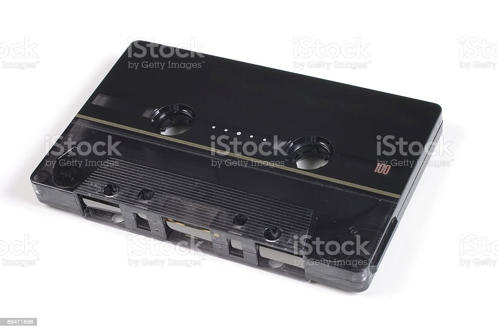 Audio Cassette royalty-free stock photo