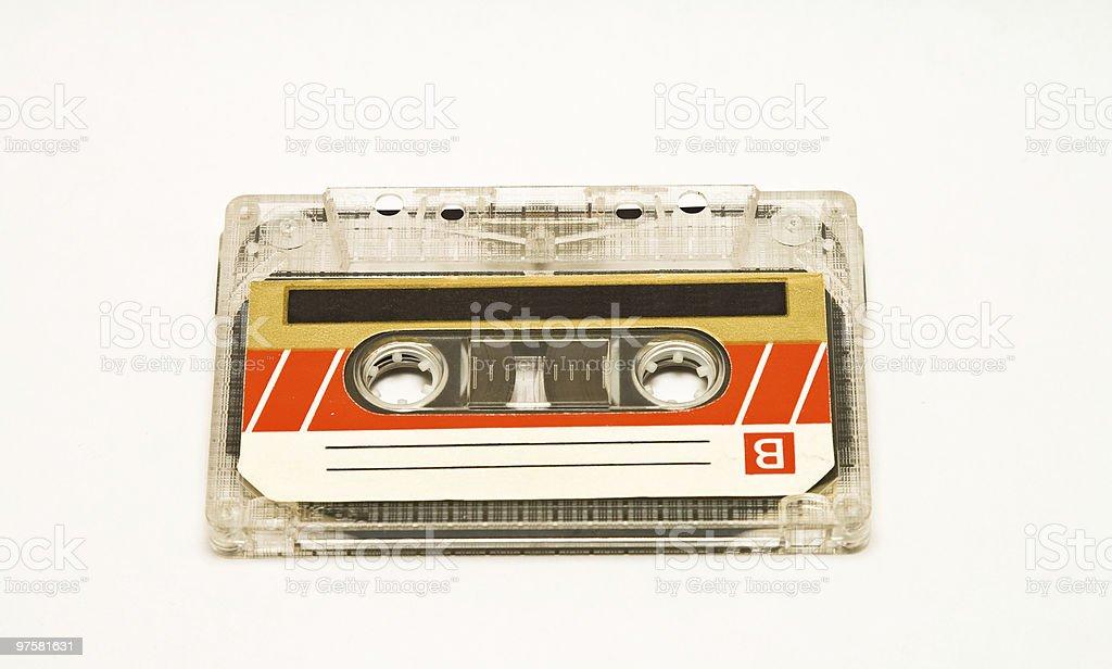 Audio Cassette Tape royalty-free stock photo